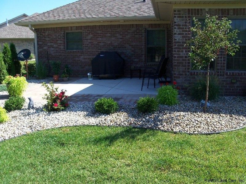 landscaping rocks columbus ohio landscaping adds privacy